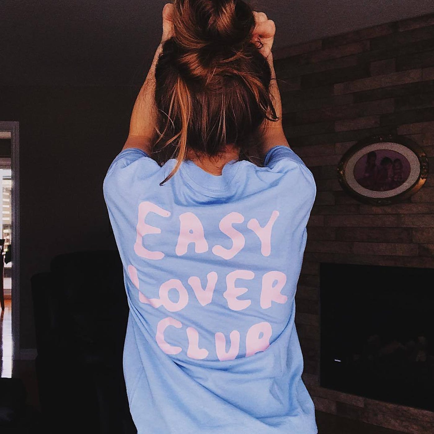 Official ELC Pink on Blue Tee - Special Offer
