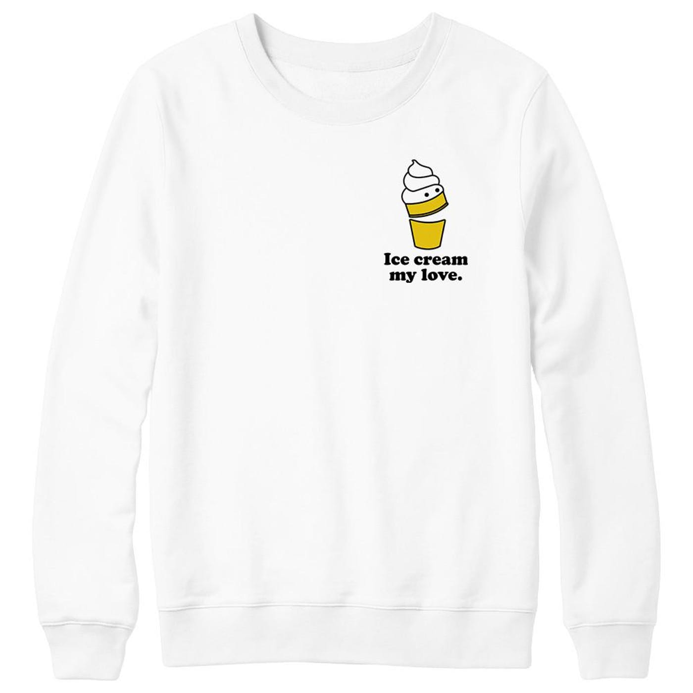 Ice Cream My Love sweater