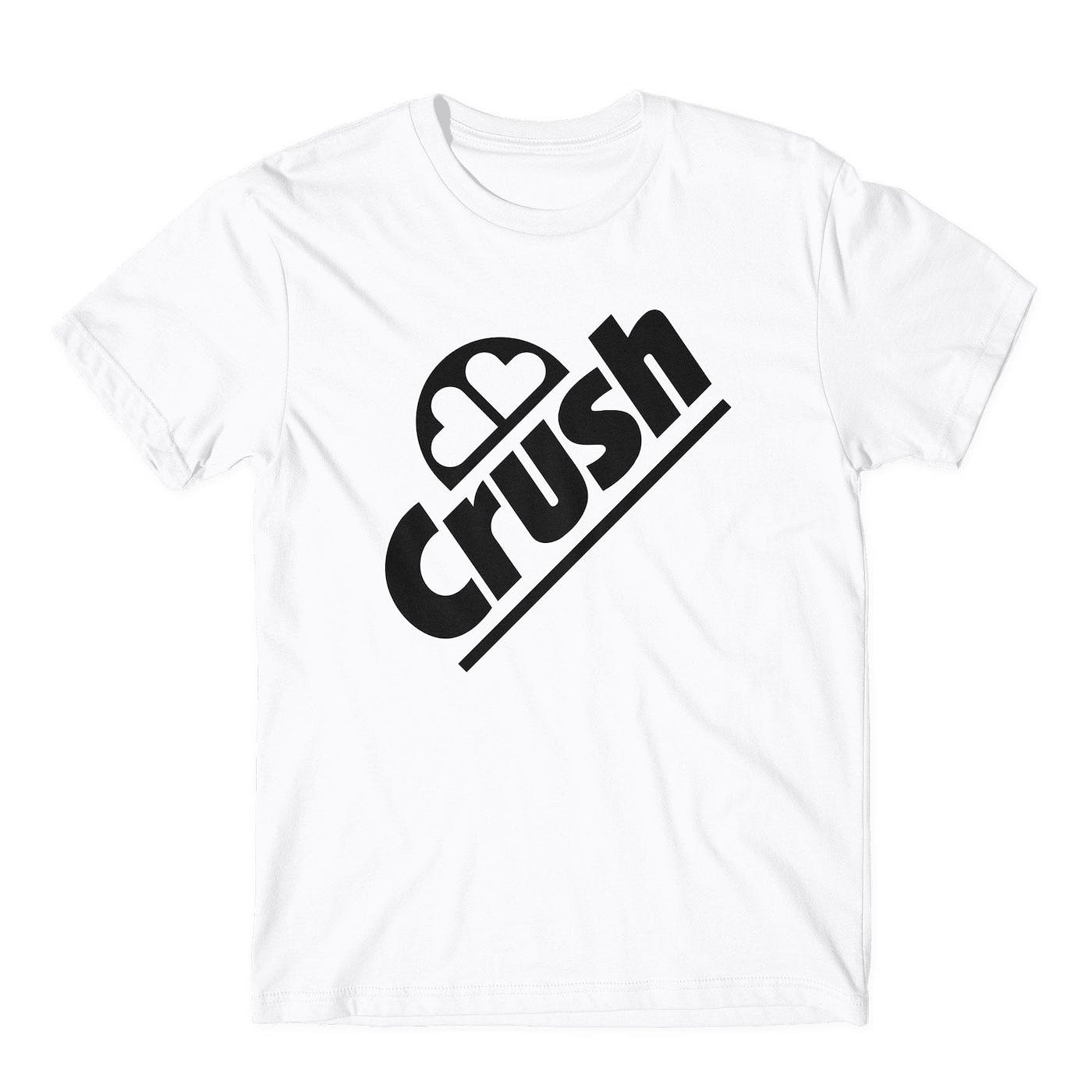 90s Large Crush in Black on White