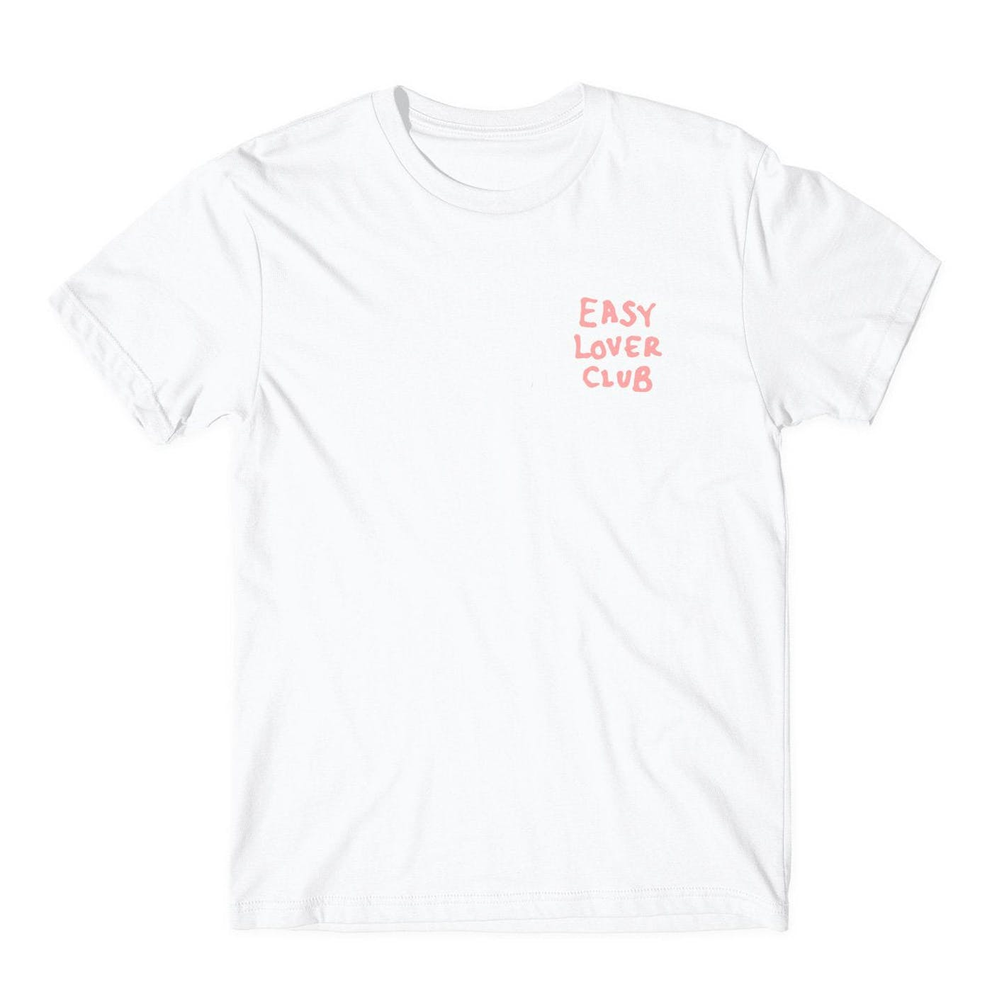 Official ELC Pink on White Tee
