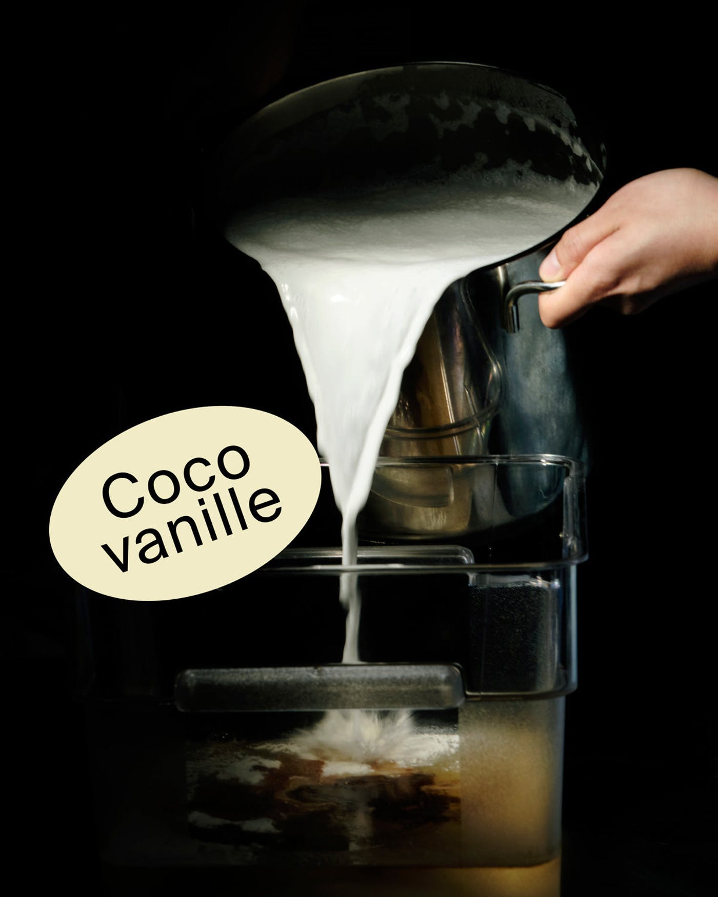 Crème molle coco-vanille 🥥
