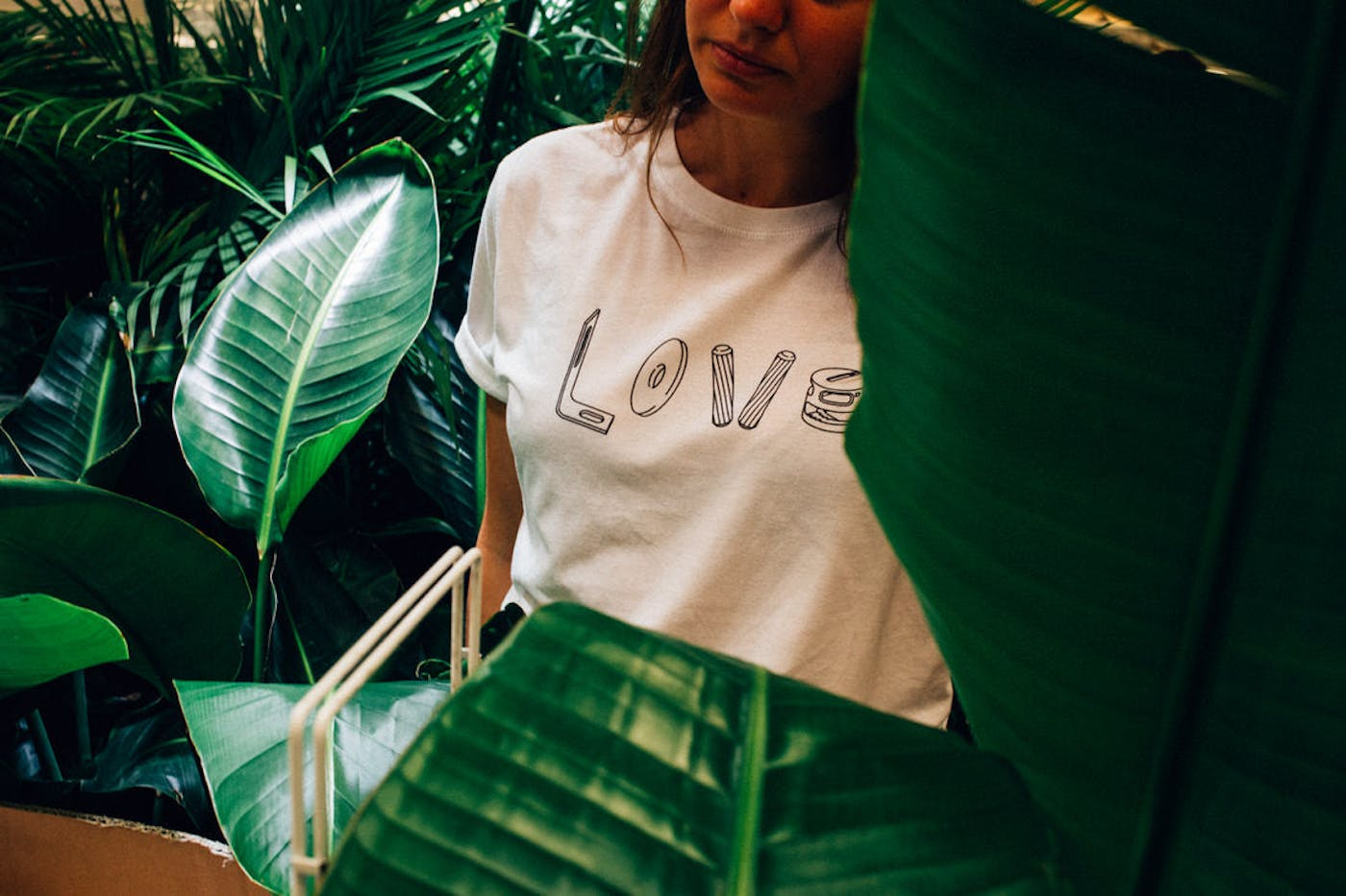 Love Tee in White