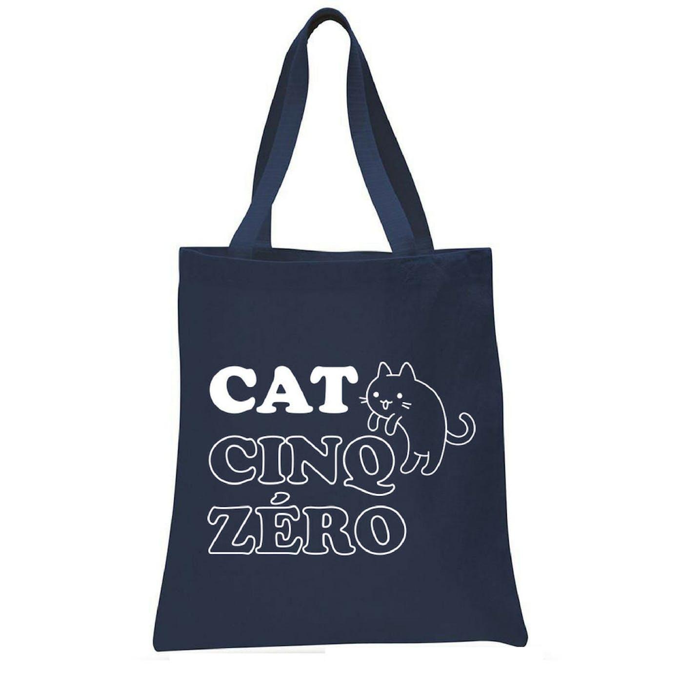 CAT-CINQ-ZERO Tote