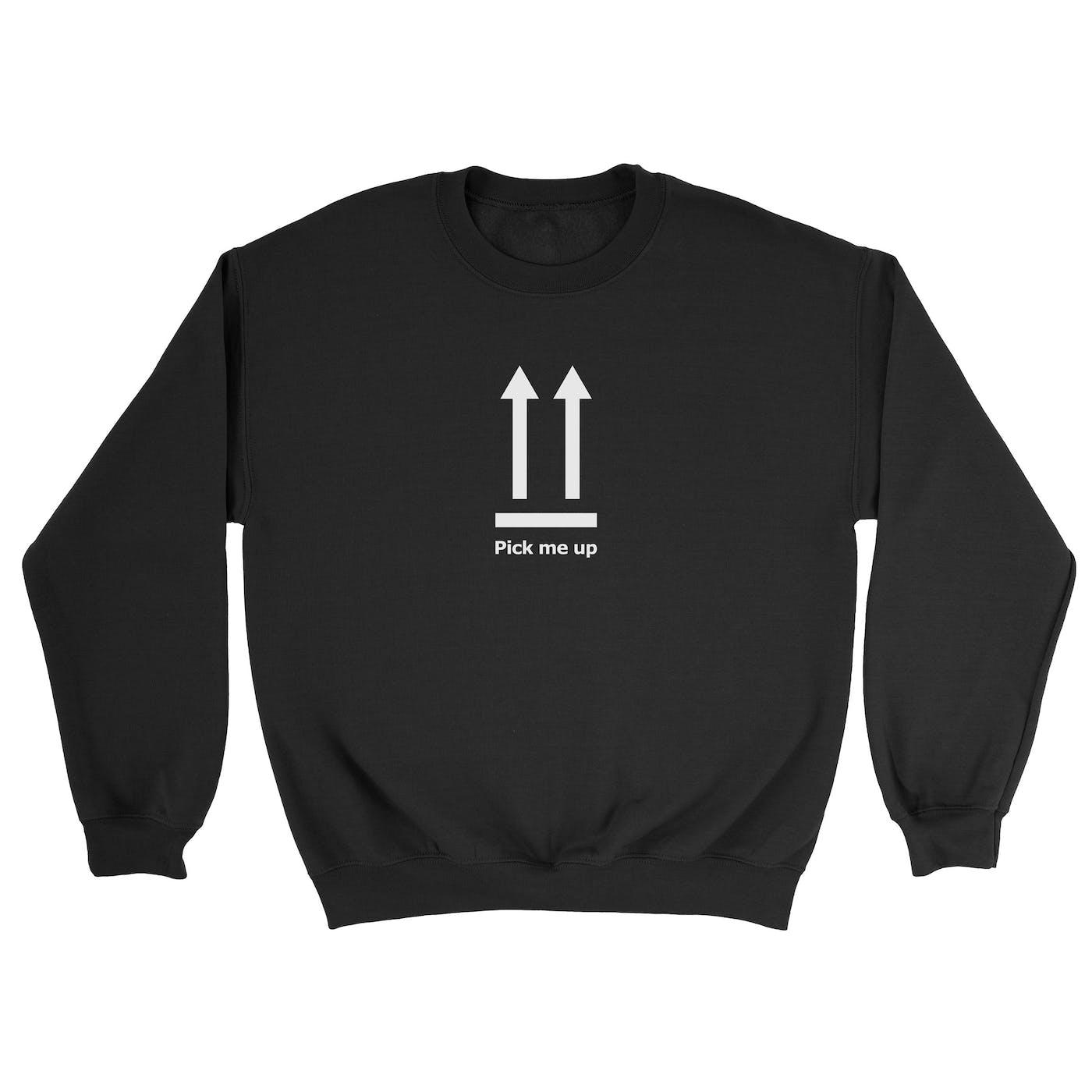 Pick Me Up Black Sweater